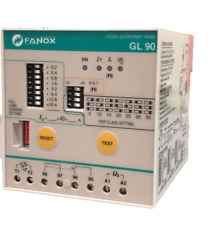 Fanox GL90 Integral Motor Protection Relay 30 - 60hp, 115V aux supply