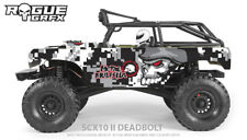 Axial SCX10 II Deadbolt Body Graphic Wrap Skin - Metal Mulisha