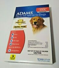 Adams Flea and Tick Spot On for Dogs (Large Dogs 56-80lbs) Refill Pack free ship