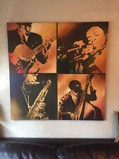 """48""""x48"""" Bustamonte Jazz Musician Canvas Art"""
