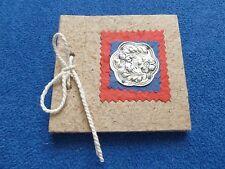Vintage Büttenpapier Notizbuch Album Buch Tagebuch Handgearbeitet