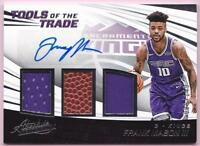 FRANK MASON III RC 2017-18 ABSOLUTE TOOLS OF THE TRADE TRIPLE RELIC AUTO #/149