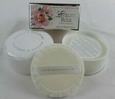 VINTAGE CRABTREE & EVELYN ENGLISH FLORAL ROSE PERFUME DUSTING POWDER 3.4 OZ NEW!