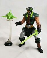 Tri-Klops 200x Green Repaint Variant complete Masters of the Universe MOTU