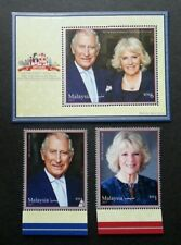 Malaysia Royal Visit Prince Of Wales & Duchess Of Cornwall 2017 (stamp + ms) MNH