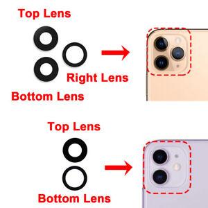 Back Rear Camera Lens Glass for Apple iPhone 7 8 Plus X XR XS Max 11 12 Pro Mini