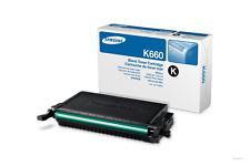 ORIGINAL SAMSUNG CLP-K660B Toner noir lp-610nd CLP-660N CLX-6200FX B NOUVEAU