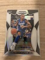 Mint 2019-20 Panini Prizm Draft Picks SILVER #77 PJ Washington Jr Univ Kentucky
