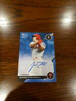 2020 Topps Now MLB Network Top 100 J.T. Realmuto  Blue AUTO /49 #MN41B Phillies