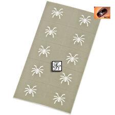 Nailart Schablone Nr.030  / Stamping Schablone Spinne UV Gel Nagel Stempel