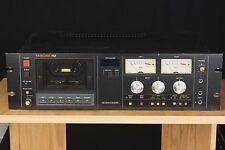 TASCAM 112 rack-mountable Pro Audio Cassette Deck Recorder Dolby