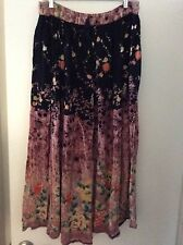 Woman's  floral peasant skirt XL