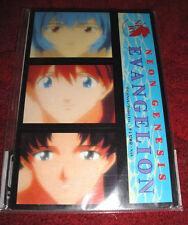 Neo Genesis Evangelion Post Card Set x25 New Sealed Never Used RARE! Rei Asuka