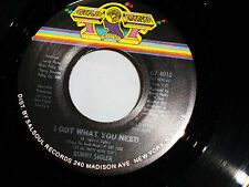 Bunny Sigler: I Got What You Need / It's Time to Twist  [Unplayed Copy]