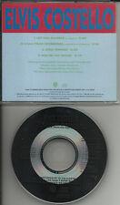 ELVIS COSTELLO Let Him Dangle w/ 2 RARE UNRELEASE TRX PROMO DJ CD single 1989
