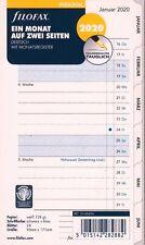 2020 Filofax 20-68517 Multilanguage 1 Woche // 1 Seiten A5