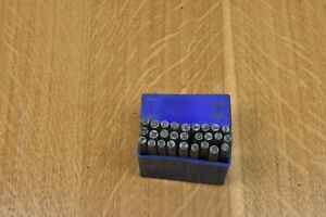 Good Used 3mm Letter Marking Punch Set