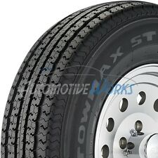 2 New ST205/75-15 Towmax STR II 8 Ply D Load Radial Trailer Tires 2057515