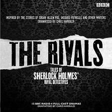 Rivals: Tales of Sherlock Holmes' Rival Detectives (Dramatisation): 12 BBC Radio Dramas of Mystery and Suspense by Edgar Allan Poe, Jacques Futrelle (CD-Audio, 2015)