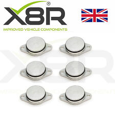6X 33MM FOR BMW DIESEL SWIRL FLAP BLANKS REPAIR 320d 330d 520d 525d 530d 730d