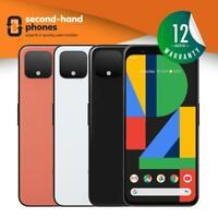 Google Pixel 4 2019 - 64GB 128GB - White/Black/Orange - UNLOCKED