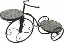 Blumenständer Pflanzen Fahrrad Stonella, Mediterraner Mosaik Pflanzständer