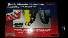 1999-2007 Silverado Sierra 1500 Rear Shock Extenders Extensions Lowering Kit