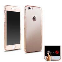 Apple iPhone 6/6S étui coque  pour mobile protection intégral rose transparent