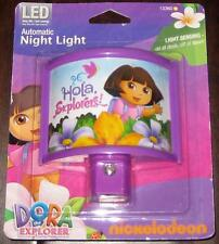 DORA THE EXPLORER AUTOMATIC NIGHTLIGHT Night Light Kids Baby Bedroom Bathroom