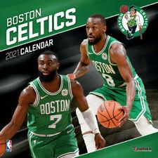 2021 Boston Celtics Team Wall Calendar by Lang Companies 305 x 305mm