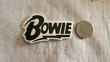 Black and White Bowie Sticker Decal