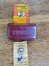 Ancien rasoir mécanique de sureté STAR Cadet Made in England dans sa boîte n°115