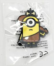 NEW Universal Studios Despicable Me Minion Stuart Caveman Fridge Magnet