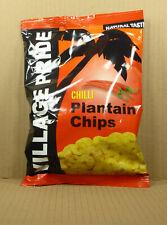75gr. Chilli Plantain Chips/ scharfe Bananenchips von Village Pride, Jamaika