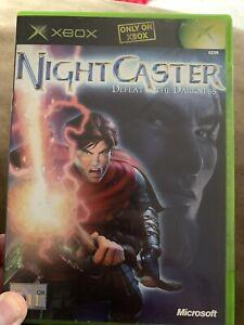 Night Caster Defeat The Darkness - XBOX ORIGINAL - PAL UK Nightcaster - Retro