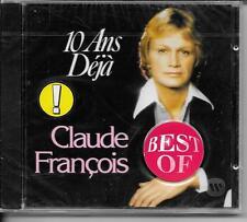 CD COMPIL 20 TITRES--CLAUDE FRANCOIS--10 ANS DEJA--NEUF