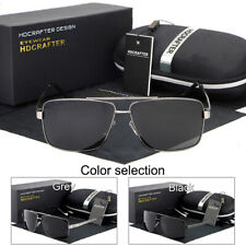 Polarized Aviator Glasses Outdoor Sports Eyewear Driving UV400 Sunglasses w/Case