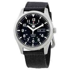Seiko 5 Automatic Black Dial Men's Watch SNZG15J1