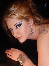 EXOTIC XOTIC EYES Egyptian Isis Cleopatra EYELASHES BODY ART COSTUME MAKE-UP New