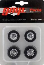 GMP llantas Chevrolet drag Wheel and tire set 1:18 - 36/37mm - 18874