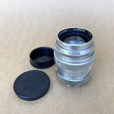 Steinheil Munchen Culminar 85mm 1:2.8 Vintage Exakta Bayonet Mount Lens, GOOD