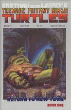 Teenage Mutant Ninja Turtles #19 Mar 1989 Mirage Studios TMNT Comic Book (VF)