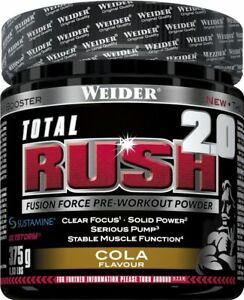 Weider Total Rush 2.0 (375 G Container) (78,91 Eur/ 1000 G)