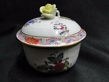 """Herend Chinese Bouquet Multicolor AF: Mini Sugar Bowl with Lid 1 7/8"""" 1664"""