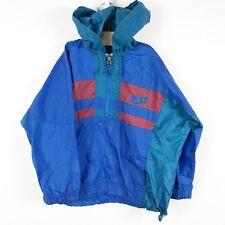 Vintage Nike Nylon Windbreaker Black Tag B Boy Hip Hop 80s 90s Youth Boys M 5/6