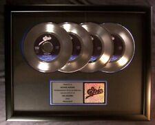 Michael Jackson Billie Jean 45 X4 Platinum Non RIAA Record Award Epic Records