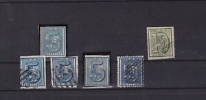 Uruguay Numerals small selection