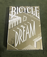 BICYCLE DREAM PLAYING CARDS : Original WHITE GOLD EDITION Discontinued!
