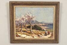 Gustave Vidal (1895-1966), Etang de Berre.Tableau, huile sur toile.