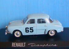 RENAULT DAUPHINE #65 RALLYE MONTE CARLO 1958 MONRAISSE FERET NOREV 1/43